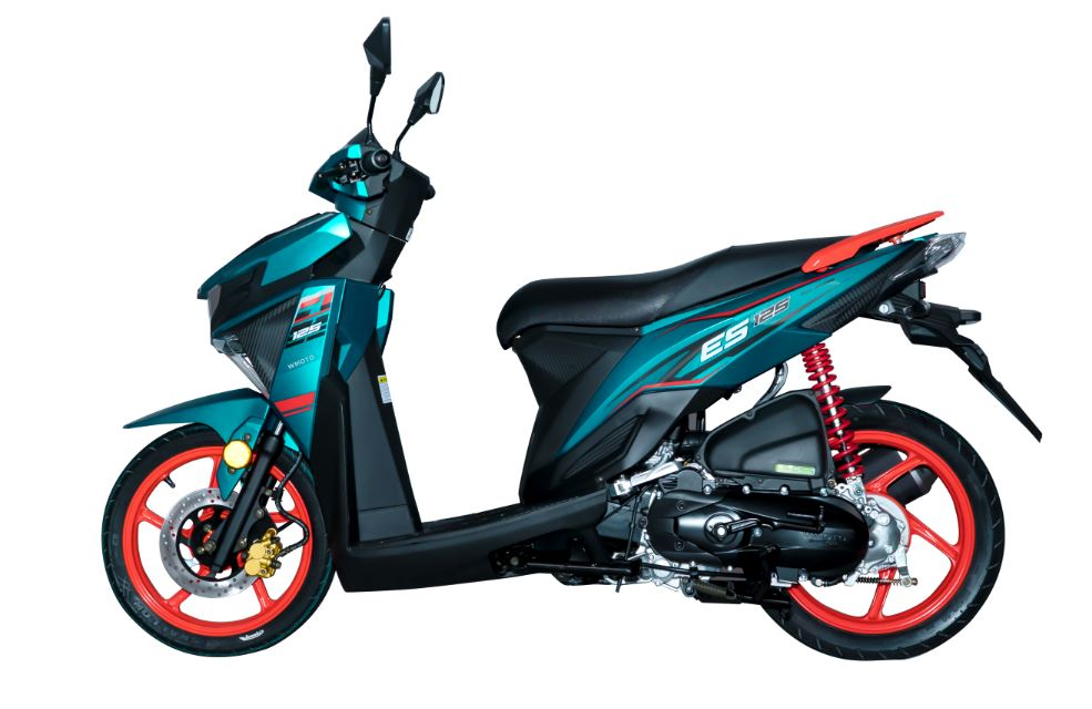 WMoto ES125 Scooter Launched in Malaysia- From RM 4,588
