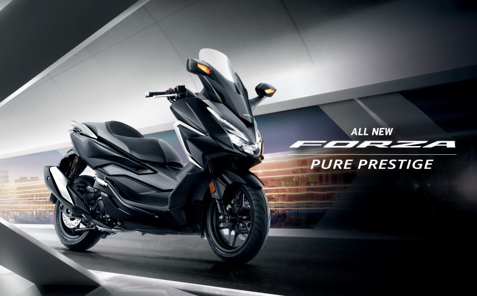 All-new 2021 Honda Forza 250 launched in Malaysia - RM 25,388