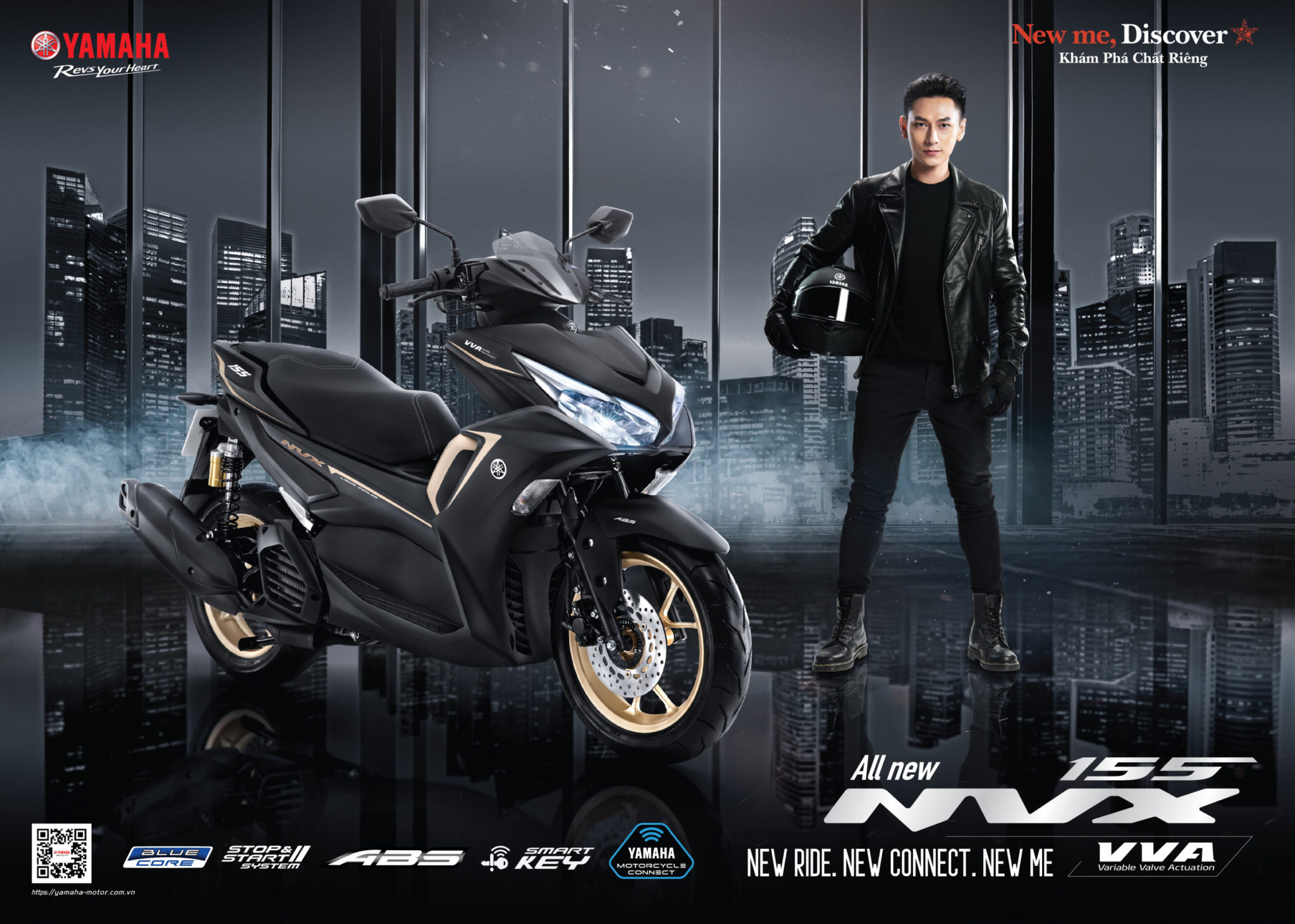 2021 Yamaha NVX V2 to be launched in Malaysia on the 28th of April?