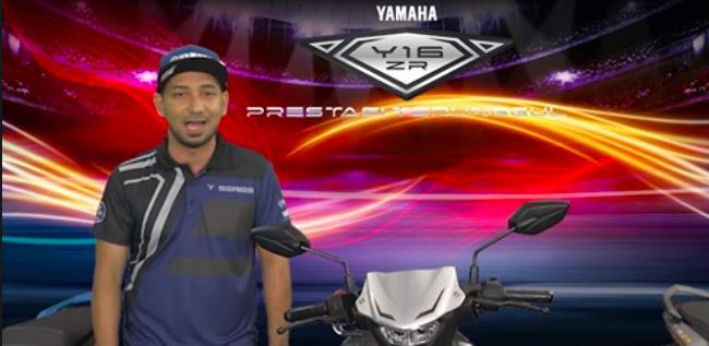 2021 Yamaha Y16ZR Malaysia Launch - Live