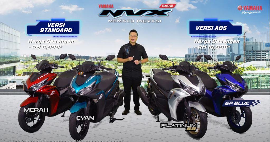 [Video] 2021 Yamaha NVX V2 Malaysia Live Launch