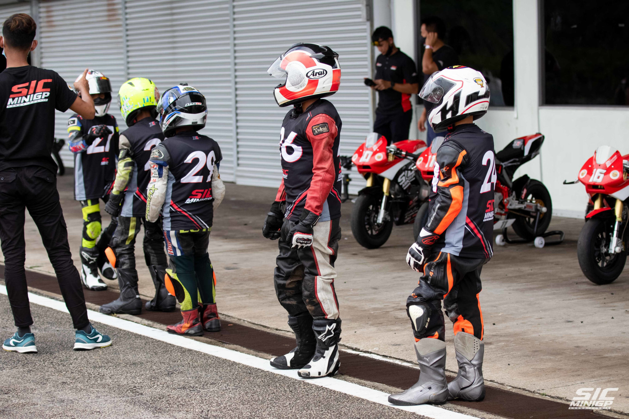Young Talent Search for the SIC MiniGP Tournament Season 2