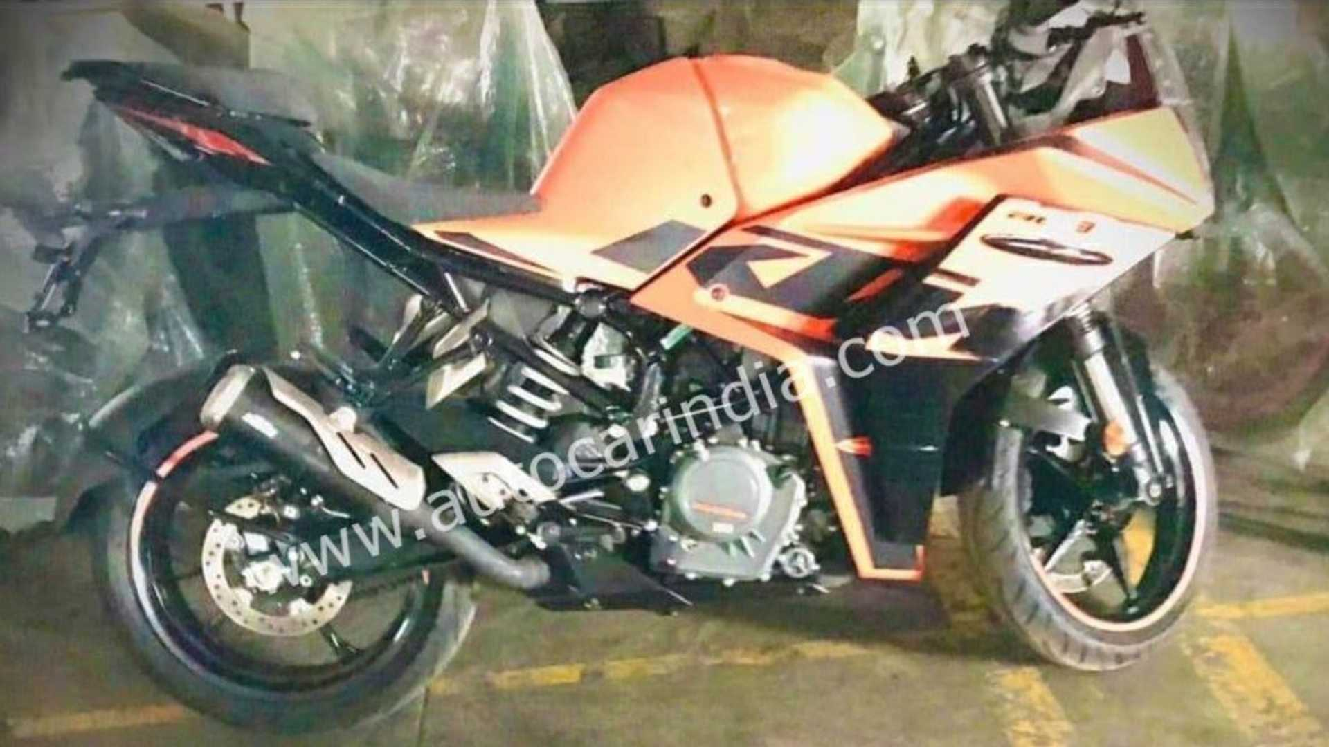 Updated 2022 KTM RC 390 Spotted! Launching soon?