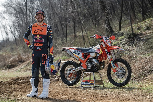 Manuel Lettenbichler all geared up for Extreme XL Lagares